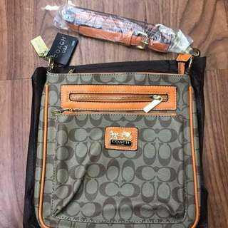Bnew coach.sling bag replica
