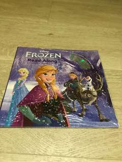 Disney Frozen Read Along Book And CD