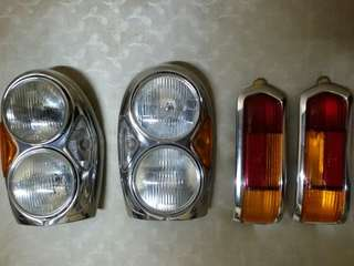 W108 head light front rear