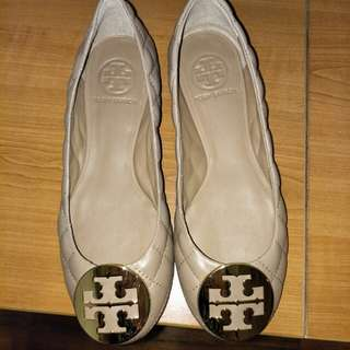Tory Burch Reva Quilted Ballet Flats