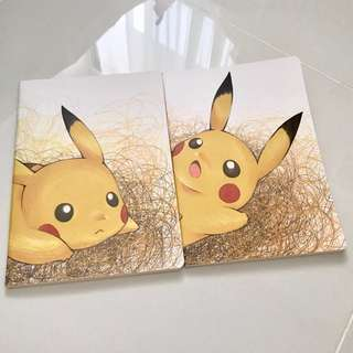 Pikachu notebook