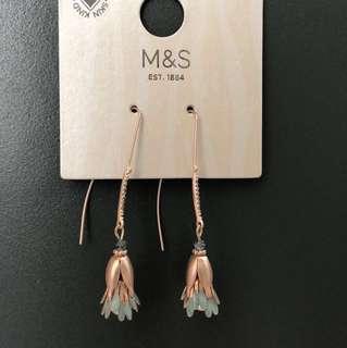 M&S earrings 100% new