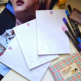 BTS A5 Notepads
