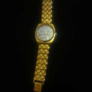 Tomato Gold Watch