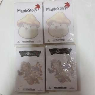 Maple story post-it limited edition
