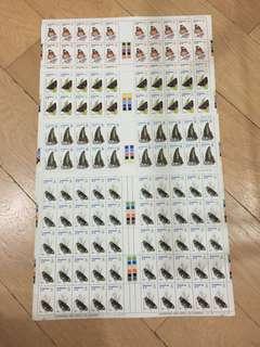 (賤賣)1979香港蝴蝶版票共50套