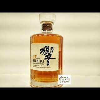 Hibiki響17年調和威士忌 (無盒) (700ml)