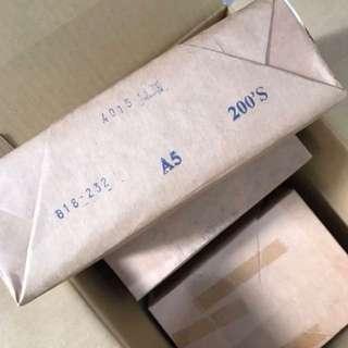 A5 flash cards blank flashcards diy Shichida heguru 270gsm