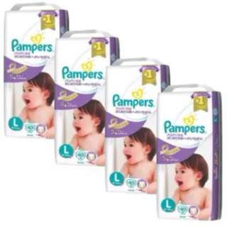 Pampers Premium Care Tapes Size L40 x 4 Pack