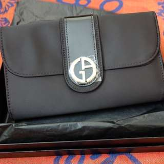 BNIB: Giorgio Armani Parfums Clutch Bag/Wallet