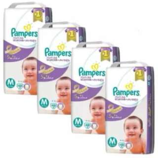 Pampers Premium Care Tapes Size M48 x 4 Pack