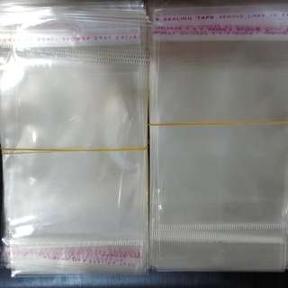 100 pieces 8x10cm plastic packaging