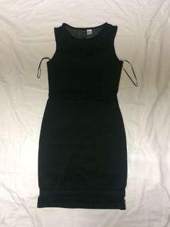 H&M Divided Mesh Dress