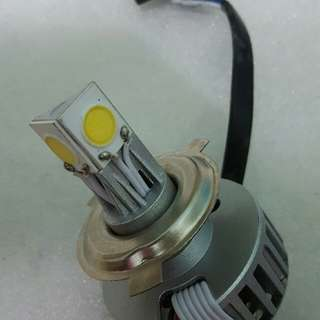 Motorcycle H4 led bulb universal hi low beam