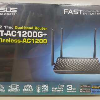 ASUS RT-AC1200G+ Dual- band Router