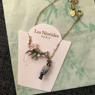 Les Nereides Paris, 花鳥手鏈,bracelet