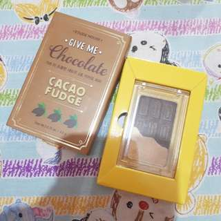 Etude house give me chocolate eyeshadow