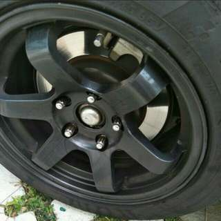 Selling 15'inch Rim &Tyres (good deal)