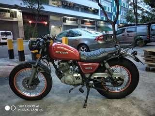 Suzuki gn 125 coe march 2023