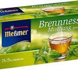 德國原裝Meβmer Brennnessel Tee有機蕁麻茶