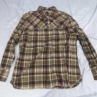 Gap Plaid Long Sleeve Shirt (L) - Repriced