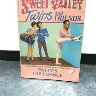 Sweet Valley Twins- Patty's last dance