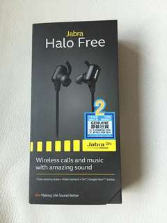 Jabra Halo Free 藍牙無線耳機