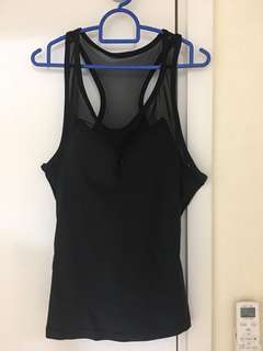 Zalora Black Sports Top