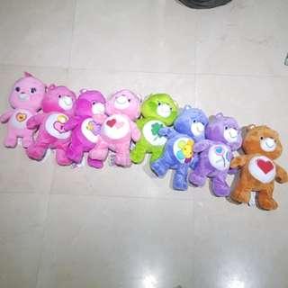"""Care bear  12"""" soft toys"""