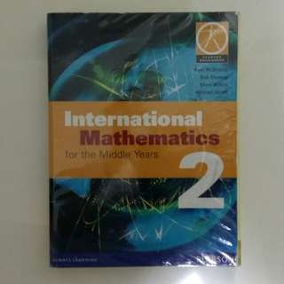 International Mathematics for the Middle Years - Book 2