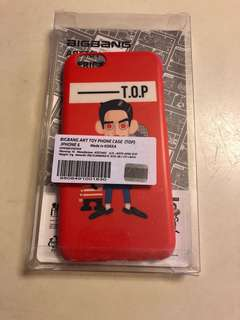 BigBang Art Toy iPhone 6/6s Case (T.O.P)