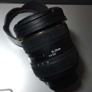 Sigma 10-20mm l f4-5.6 ex dc hsm for nikon