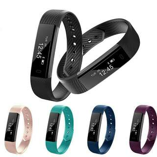 Fitness Tracker Smart Watch ID 115