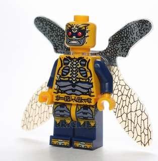 {Brickiez} Yellow Parademon Minifigure XH745