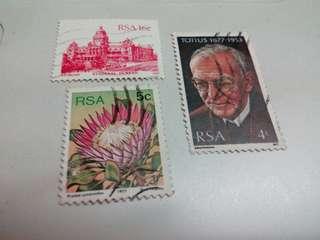 South Africa Stamps 3V