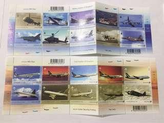 Singapore 2003 Aircraft series mnh
