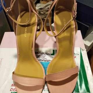 Light Pink high heeled Sandals
