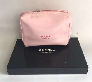 Auth Chanel Gift Makeup Pouch