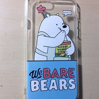 We bare bears iPhone 6S 手機殼