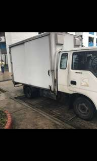 Lorry With Box for rent