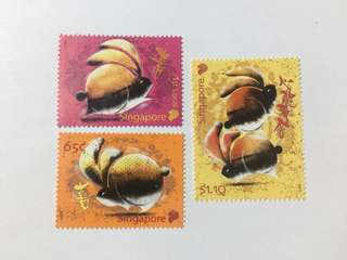 Singapore 2011 zodiac series rabbit mnh