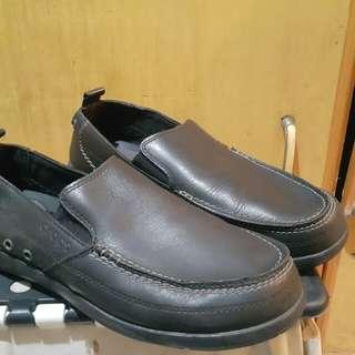 Men's Crocs Santa Cruz 2 Luxe Leather Loafer