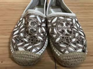 Authentic Tory Burch Lace Mesh Shoes