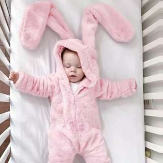Big Ear Rabbit Jumpsuit
