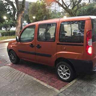 Fiat mpv s Plate for rent