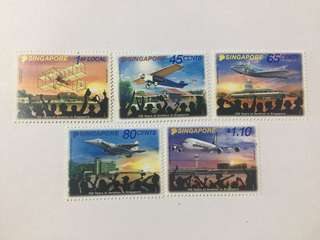 Singapore 2011 Aviation mnh