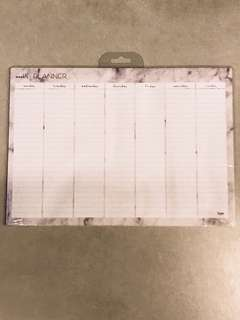 Typo A3 Marble Planner