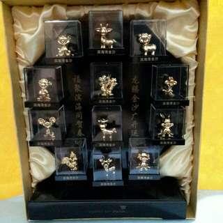 Gold Plated 24k Zodiac