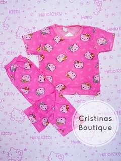 Hello Kitty Plain Sleepwear Set