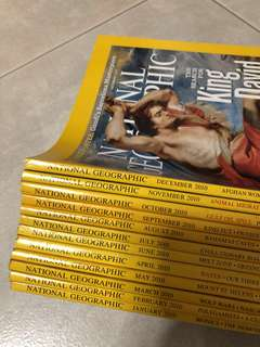 National Geographic Magazines 2010 (12 issues)